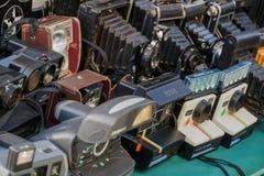 Polaroid natychmiastowe kamery obrazy stock