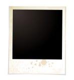 Polaroid normale di Grunge illustrazione vettoriale