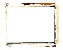 Polaroid- overdrachtgrens Royalty-vrije Stock Afbeelding