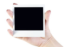 Polaroid photo Royalty Free Stock Image
