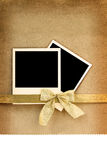 Polaroid photo frame Stock Photo