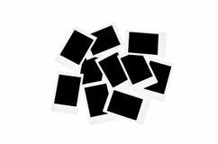 Polaroid photo frame Royalty Free Stock Images