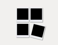 Polaroid photo frame - B Stock Photography