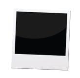 Polaroid photo frame or border,. A single polaroid photo prints, for retro and vintage concepts Stock Image