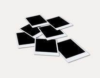 Polaroid photo frame - C Stock Image