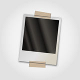 Polaroid photo frame. Create your own old photo Stock Photo