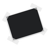 Polaroid Photo Frame. A graphic representation of a clean Picture Frame Royalty Free Stock Image