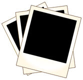 Polaroid photo frames Royalty Free Stock Image