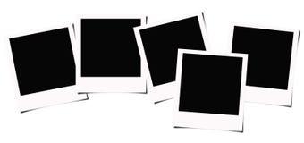 Polaroid photo frames Stock Photo