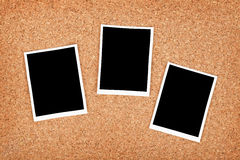 Polaroid photo frames Stock Photography