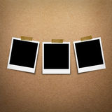 Polaroid photo frames Stock Image