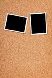 Polaroid photo frames Stock Images