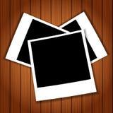 Polaroid photos Stock Photo