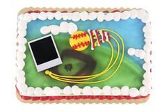 Polaroid picture cake Stock Photography