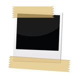 Polaroid picture frame Royalty Free Stock Photography