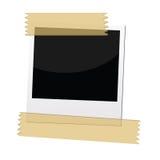 Polaroid picture frame stock illustration