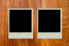 Polaroid picture frame Royalty Free Stock Photo