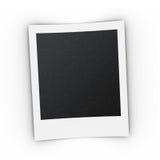 Polaroid print template with shadow Royalty Free Stock Photos