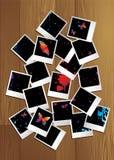 Polaroid- raadselaard Royalty-vrije Stock Afbeelding