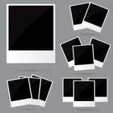 Polaroid- ramar Fotografering för Bildbyråer