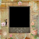 Polaroid scrapbook decorative frame Royalty Free Stock Photography