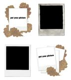 Polaroid set Royalty Free Stock Photos