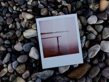 Polaroid Stone Photo Stock Images