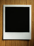 Polaroid style photo frame Stock Photography