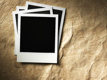 Polaroid style photo frame Stock Photo