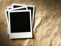 Polaroid style photo frame Stock Image
