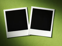 Polaroid style photo frame Stock Photos