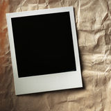 Polaroid style photo frame Royalty Free Stock Photos