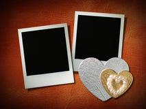 Polaroid style photo frame Stock Photos