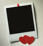 Polaroid style photo frame Royalty Free Stock Photography