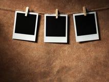 Polaroid style photo frame Royalty Free Stock Photos