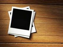 Polaroid style photo frame Royalty Free Stock Images