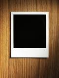 Polaroid style photo frame Royalty Free Stock Photo