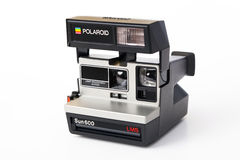 Polaroid Sun600 LMS Camera Royalty Free Stock Images