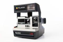 Polaroid Sun600 LMS Camera. BANGKOK,THAILAND - 18 JULY, 2015 : Polaroid Sun600 LMS Camera Stock Photo