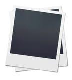 Polaroid vazio Fotografia de Stock