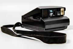 Polaroidart des Kamera-Sofortbildfilms mit Abzugsleine Lizenzfreie Stockfotos