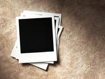 Polaroidartfotorahmen Lizenzfreie Stockfotografie