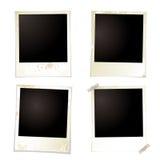 polaroidband för fyra grunge Royaltyfria Foton