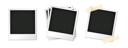 Polaroidcamera vector illustratie