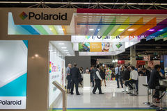 Polaroidcamera in Photokina 2016 Stock Foto