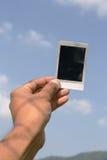 Polaroidcamera ter beschikking Royalty-vrije Stock Foto