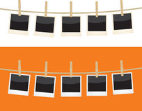 Polaroide Stockfotografie