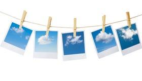 Polaroide Stockfoto