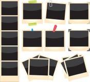 Polaroide eingestellt Lizenzfreie Stockfotos