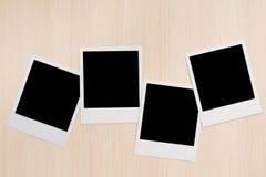 Polaroides Fotos de archivo